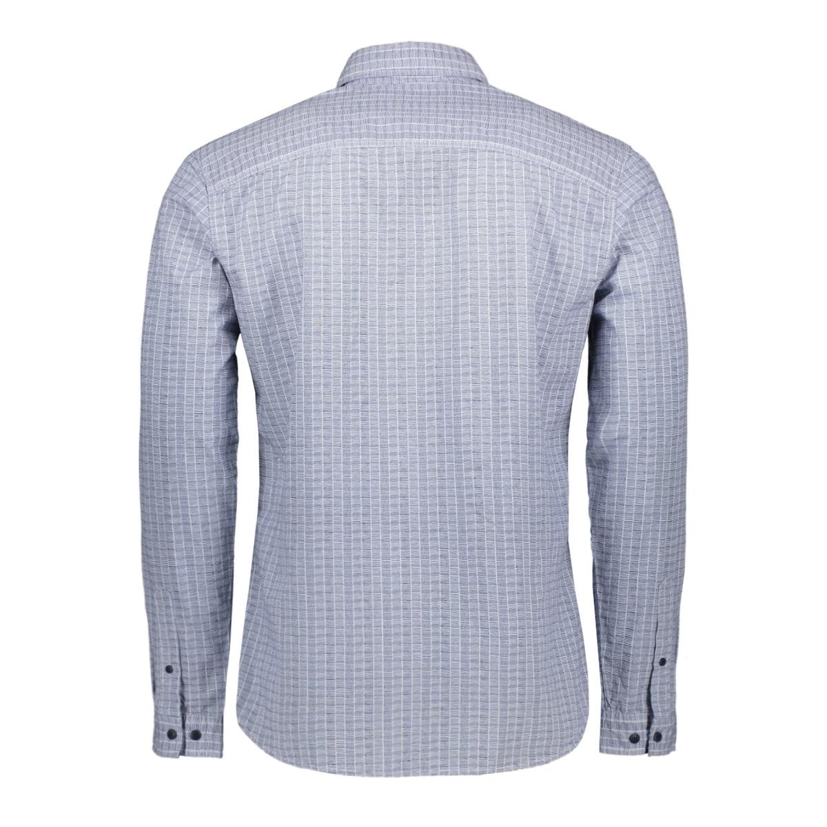 jcogladstone  shirt ls one pocket 12161661 jack & jones overhemd white/slim twi