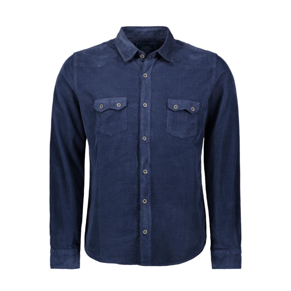 shirt 33800 gabbiano overhemd navy