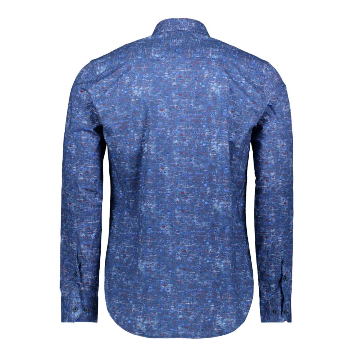 shirt 33818 gabbiano overhemd blue