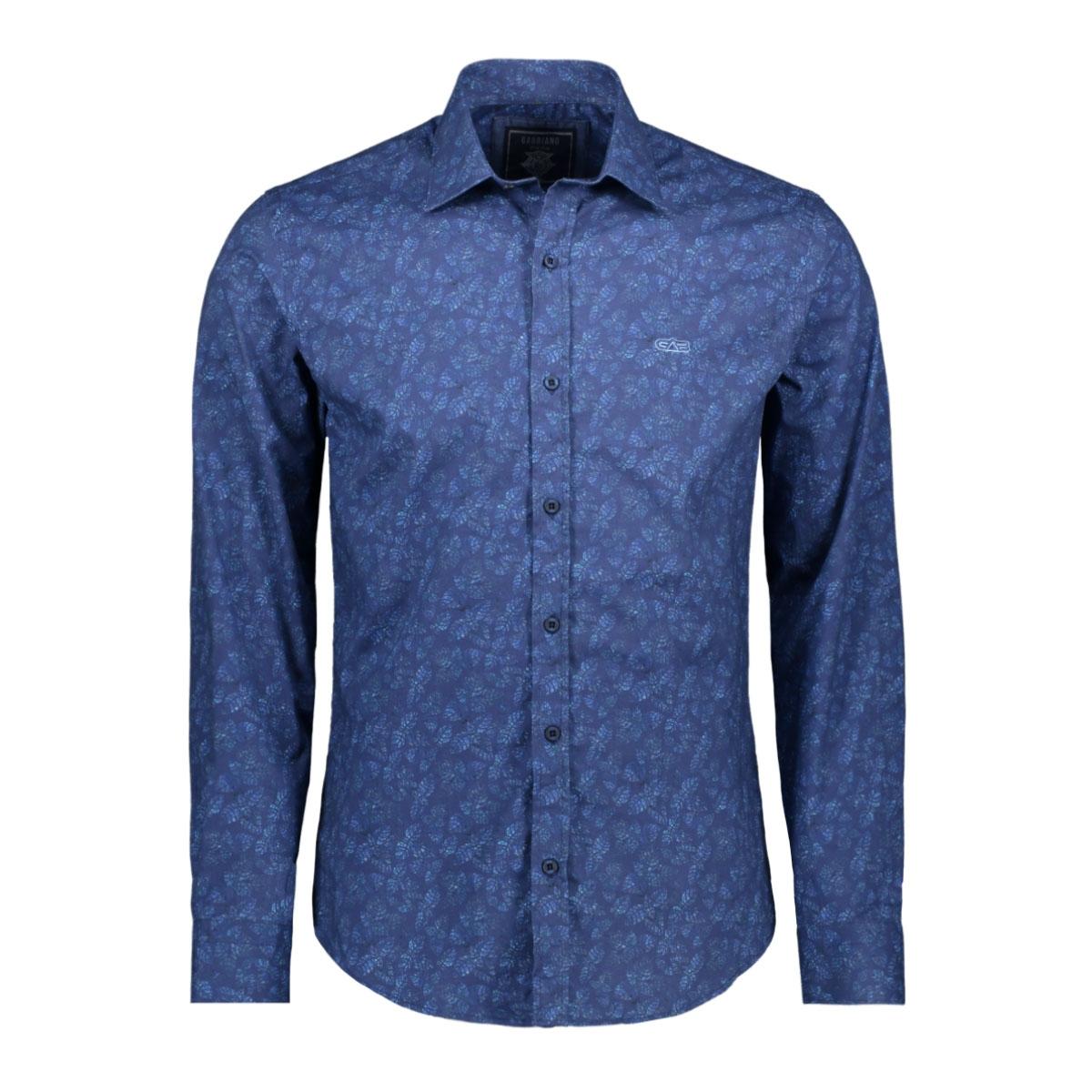 shirt 33821 gabbiano overhemd navy