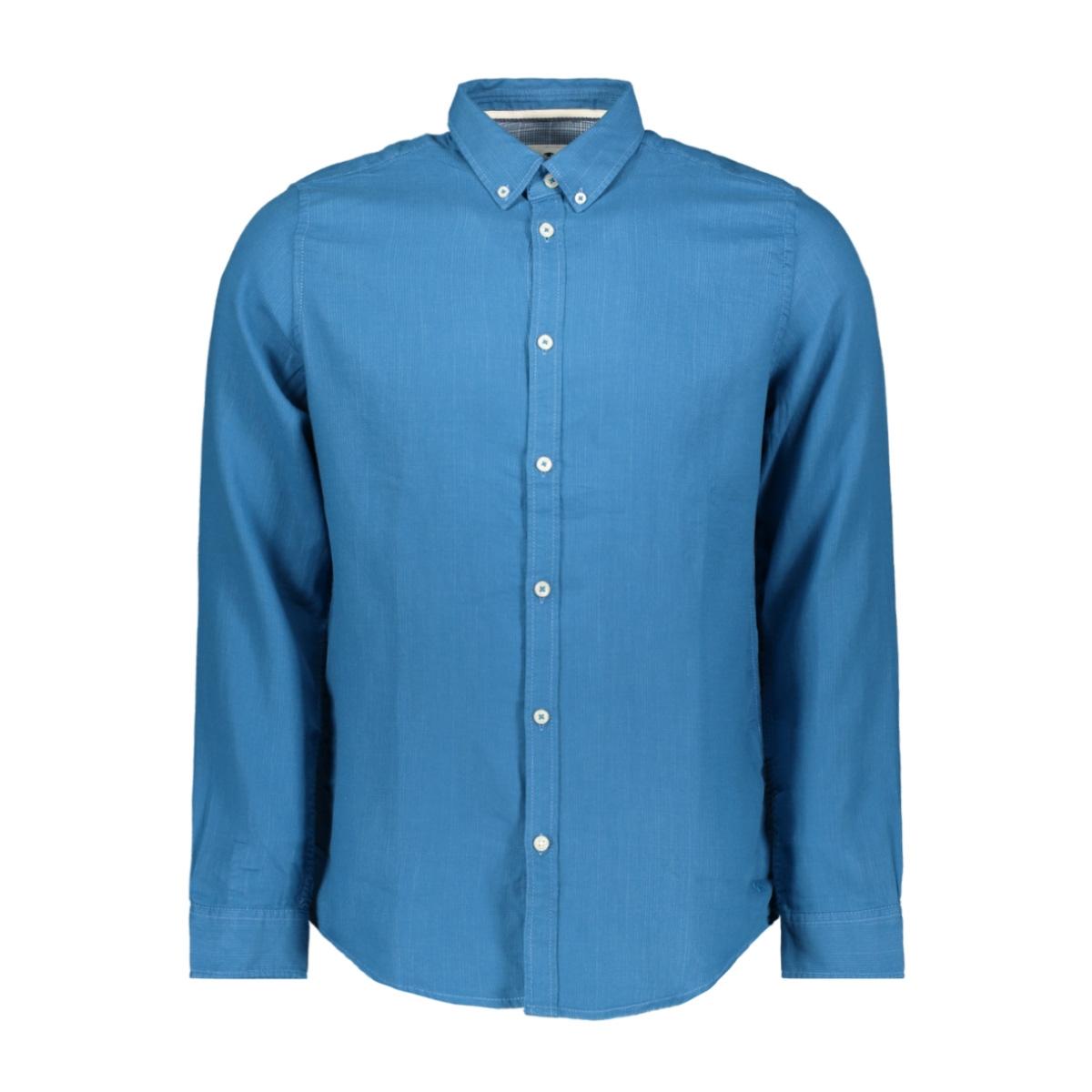 overhemd met buttondown kraag 1014474xx10 tom tailor overhemd 20197