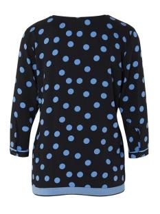 blouse met v hals en driekwart mouw 1016785xx70 tom tailor blouse 21753