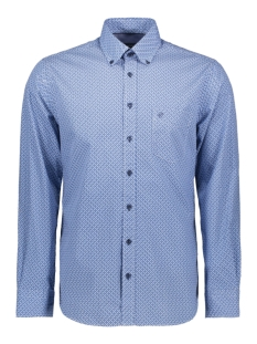 Campbell Overhemd CLASSIC CASUAL SHIRT LM 050130 318 LICHTBLAUW PRINT