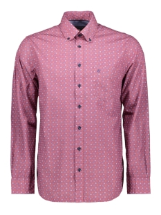 Campbell Overhemd CLASSIC CASUAL SHIRT LM 050128 688 DONKERROOD PRINT
