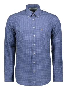 Campbell Overhemd CLASSIC CASUAL SHIRT LM 050120 308 BLAUW PRINT