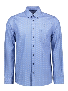 Campbell Overhemd CLASSIC CASUAL SHIRT LM 050126 318 LICHTBLAUW PRINT