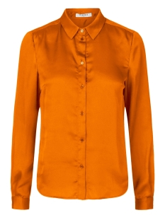 Pieces Blouse PCJELINEN LS SHIRT 17099958 Marmalade