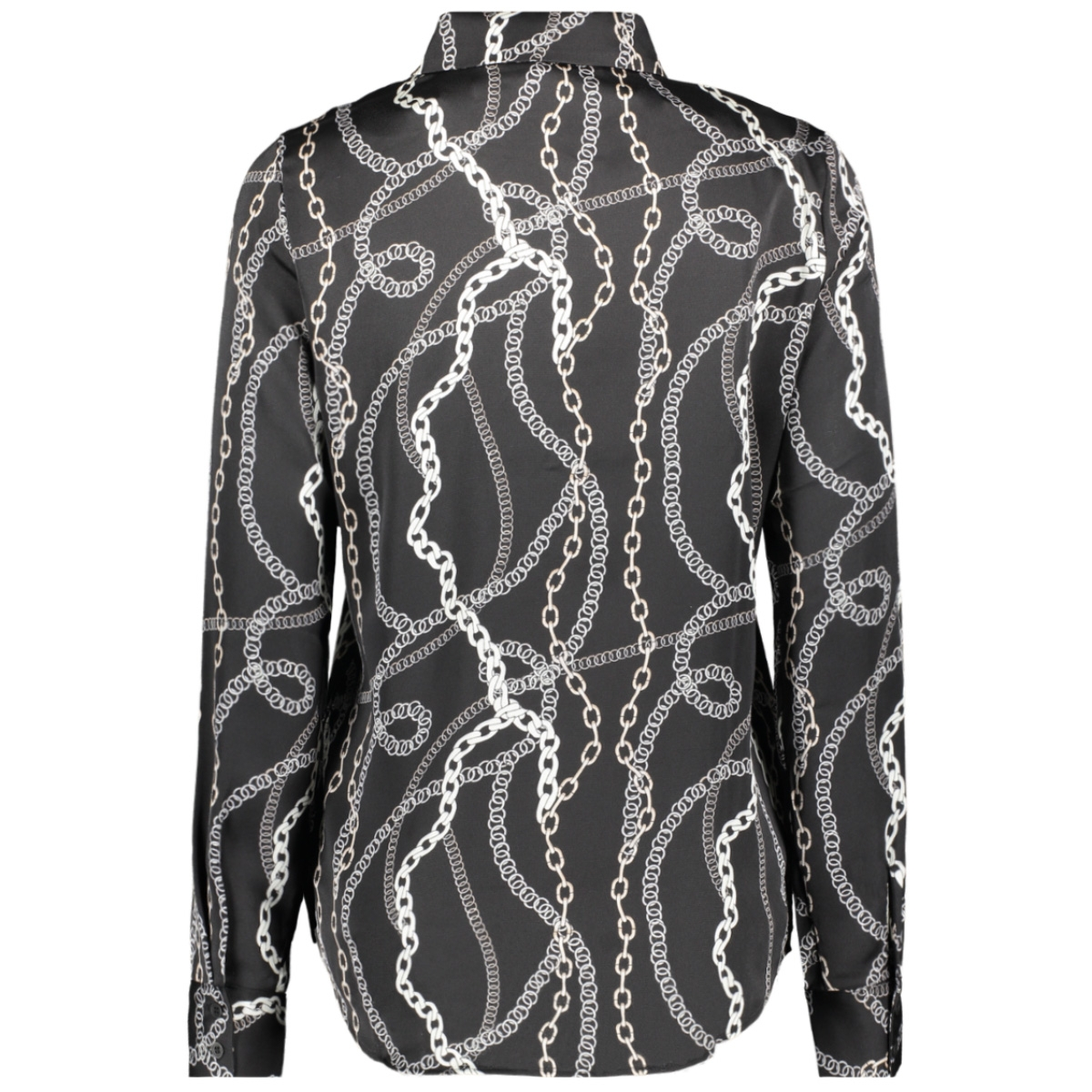 vmcailey l/s bow shirt exp 10226982 vero moda blouse black/chain