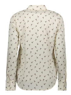 vmliem ls shirt wvn 10223006 vero moda blouse birch/liem - bir