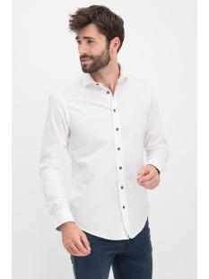 shirt solid stretch me 0103 haze & finn overhemd white