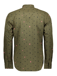 onspoplin ls aop shirt vd 22013667 only & sons overhemd olive night