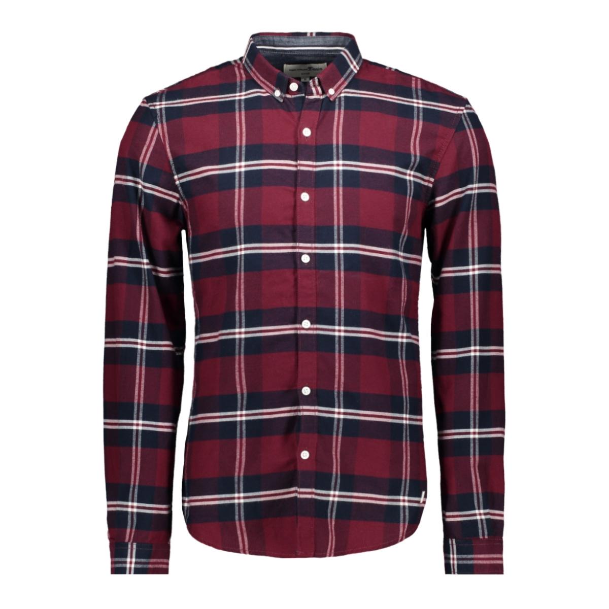 geruit overhemd 1015458xx12 tom tailor overhemd 20745