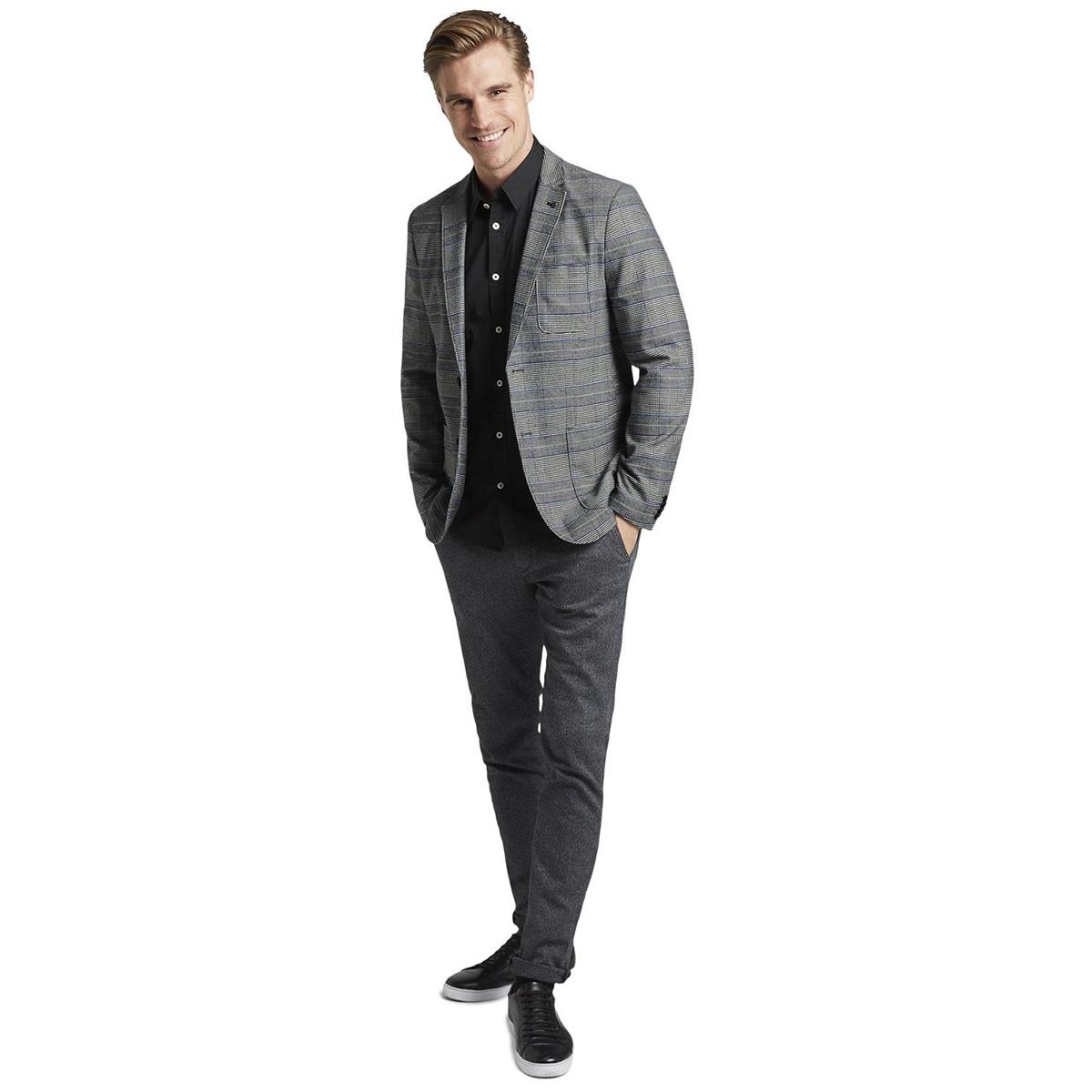 effen overhemd 1015320xx10 tom tailor overhemd 10337