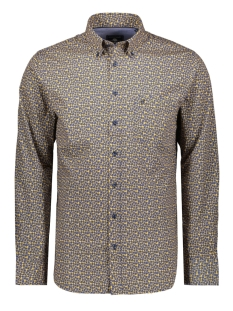 Campbell Overhemd CLASSIC CASUAL SHIRT LM 050116 580 DONKERGEEL