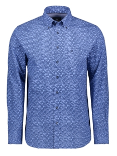 Campbell Overhemd CLASSIC CASUAL SHIRT LM 050115 318 LICHTBLAUW PRINT
