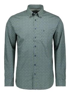Campbell Overhemd CLASSIC CASUAL SHIRT LM 050117 428 LICHTGROEN PRINT