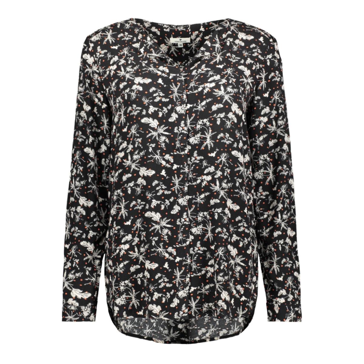 blouse met v hals 1015474xx70 tom tailor blouse 20813