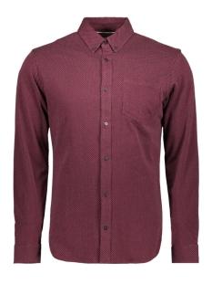 Jack & Jones Overhemd JCOJERSEY SHIRT LS ONE POCKET 12161663 Port Royale