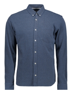 Jack & Jones Overhemd JCOJERSEY SHIRT LS ONE POCKET 12161663 Sky Captain