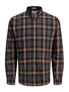 Jack & Jones Overhemd JPRFOCUS CHECK SHIRT L/S 12162325 Black