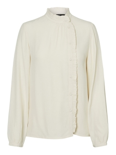 vmeva ls shirt wvn 10222188 vero moda blouse birch/solid