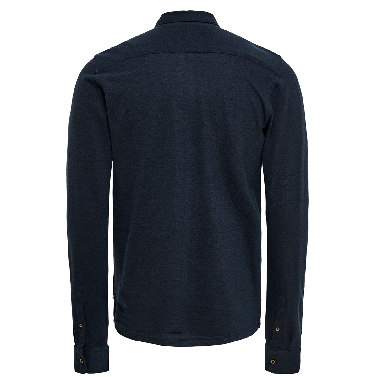 onscuton ls knitted melange shirt c 22015924 only & sons overhemd reflecting pond