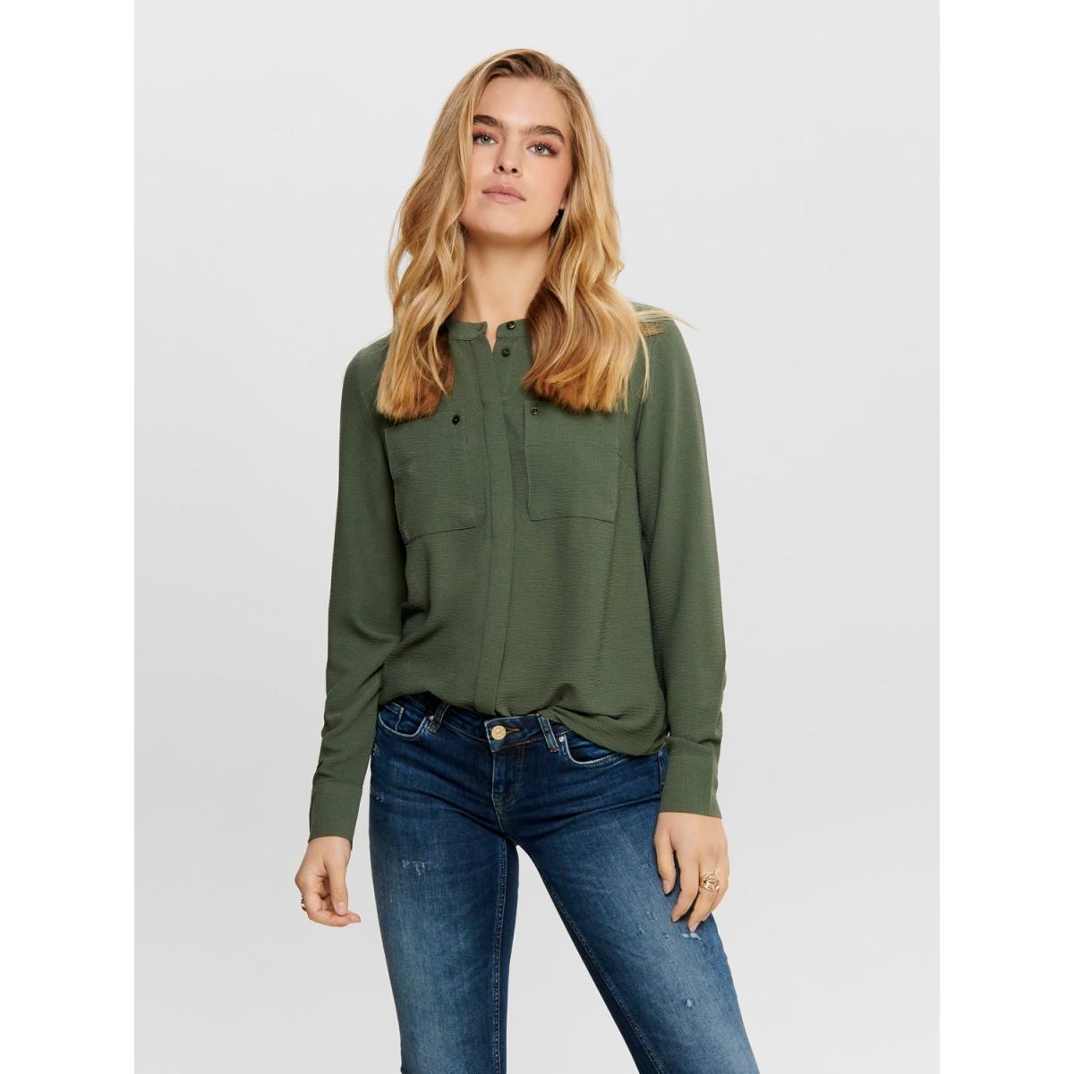 jdypaul l/s shirt wvn 15192587 jacqueline de yong blouse thyme