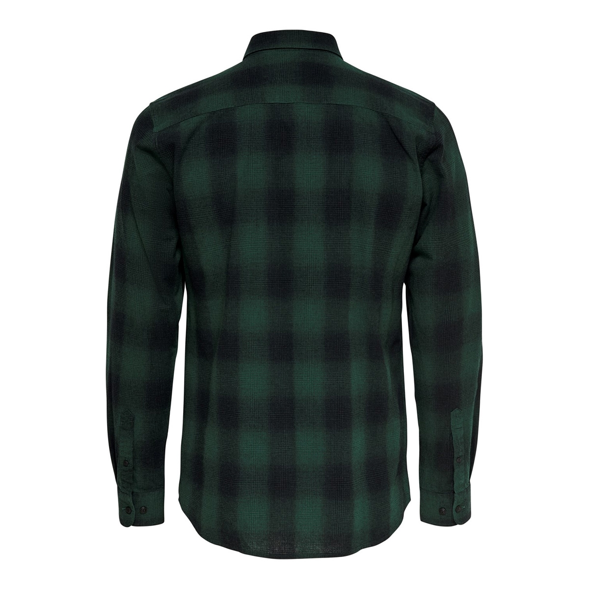 onsewan ls shadow check shirt 22014534 only & sons overhemd darkest spruce