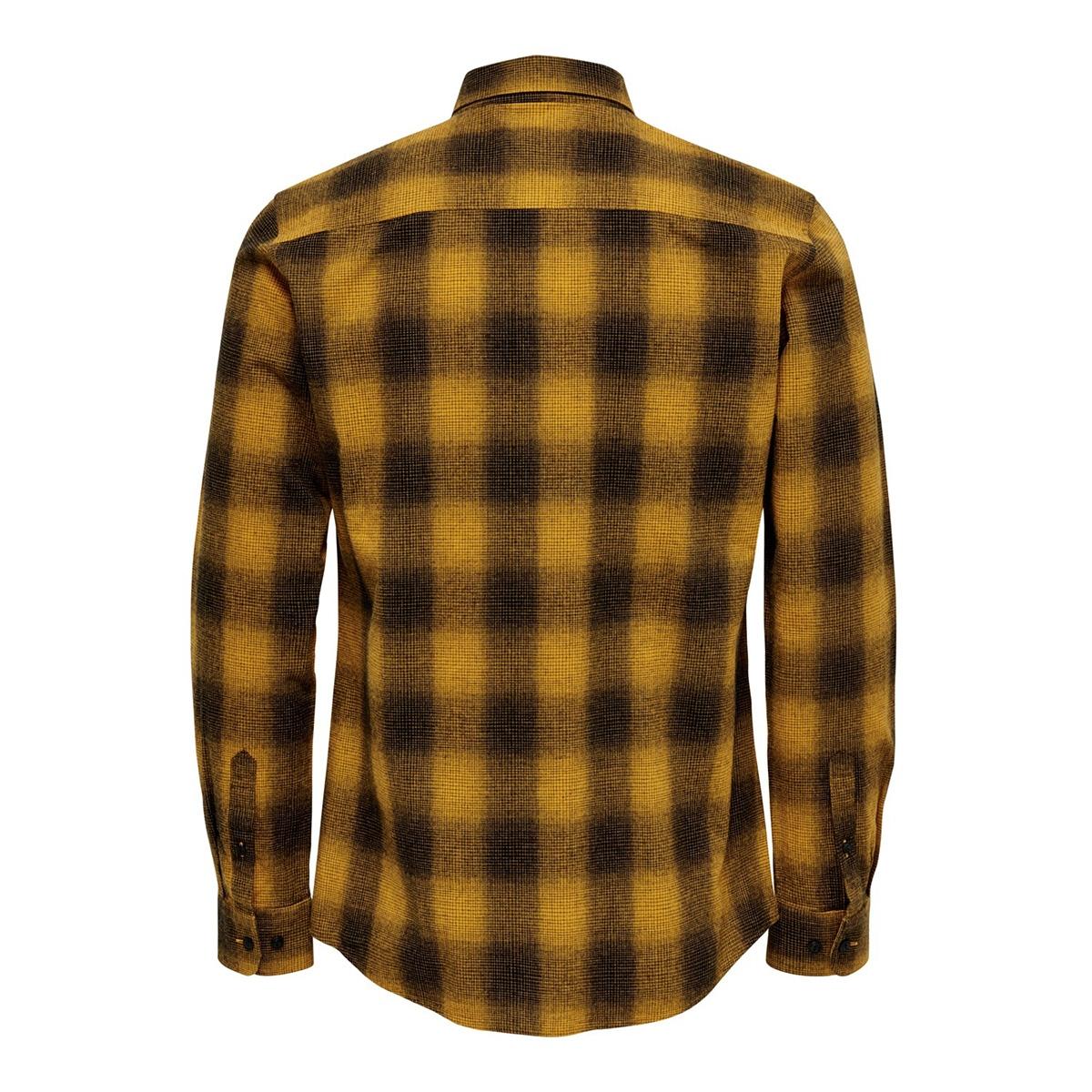onsewan ls shadow check shirt 22014534 only & sons overhemd dessert sun