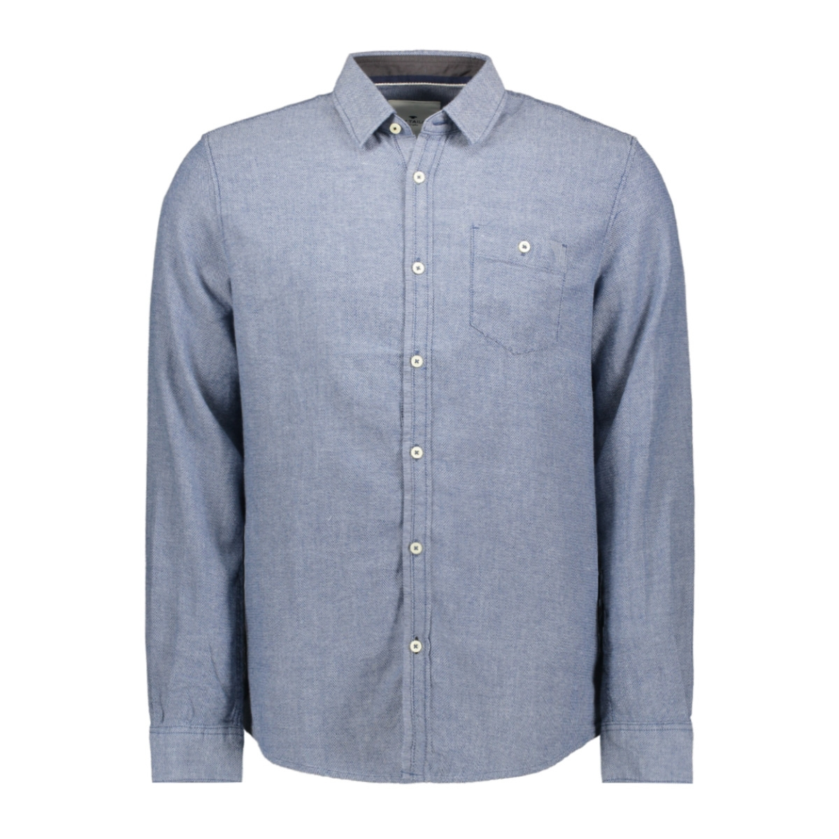 overhemd met borstzak 1015319xx10 tom tailor overhemd 20770