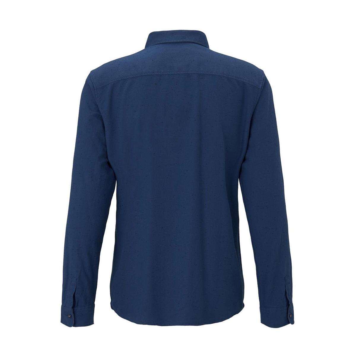overhemd met borstzak 1015315xx10 tom tailor overhemd 20757