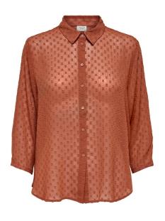 Jacqueline de Yong Blouse JDYOCTAN 3/4 LOOSE SHIRT WVN 15186489 Arabian Spice