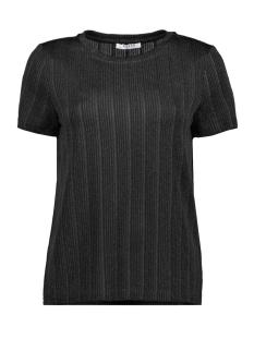 pcjolie ss top 17100020 pieces t-shirt black/black lure