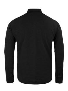 33840 gabbiano overhemd black