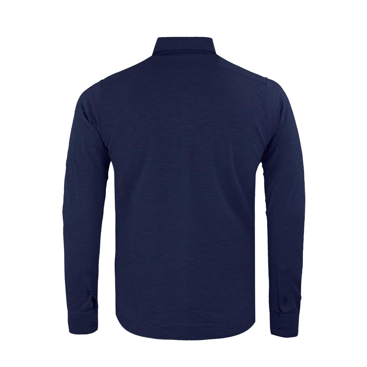 33840 gabbiano overhemd navy