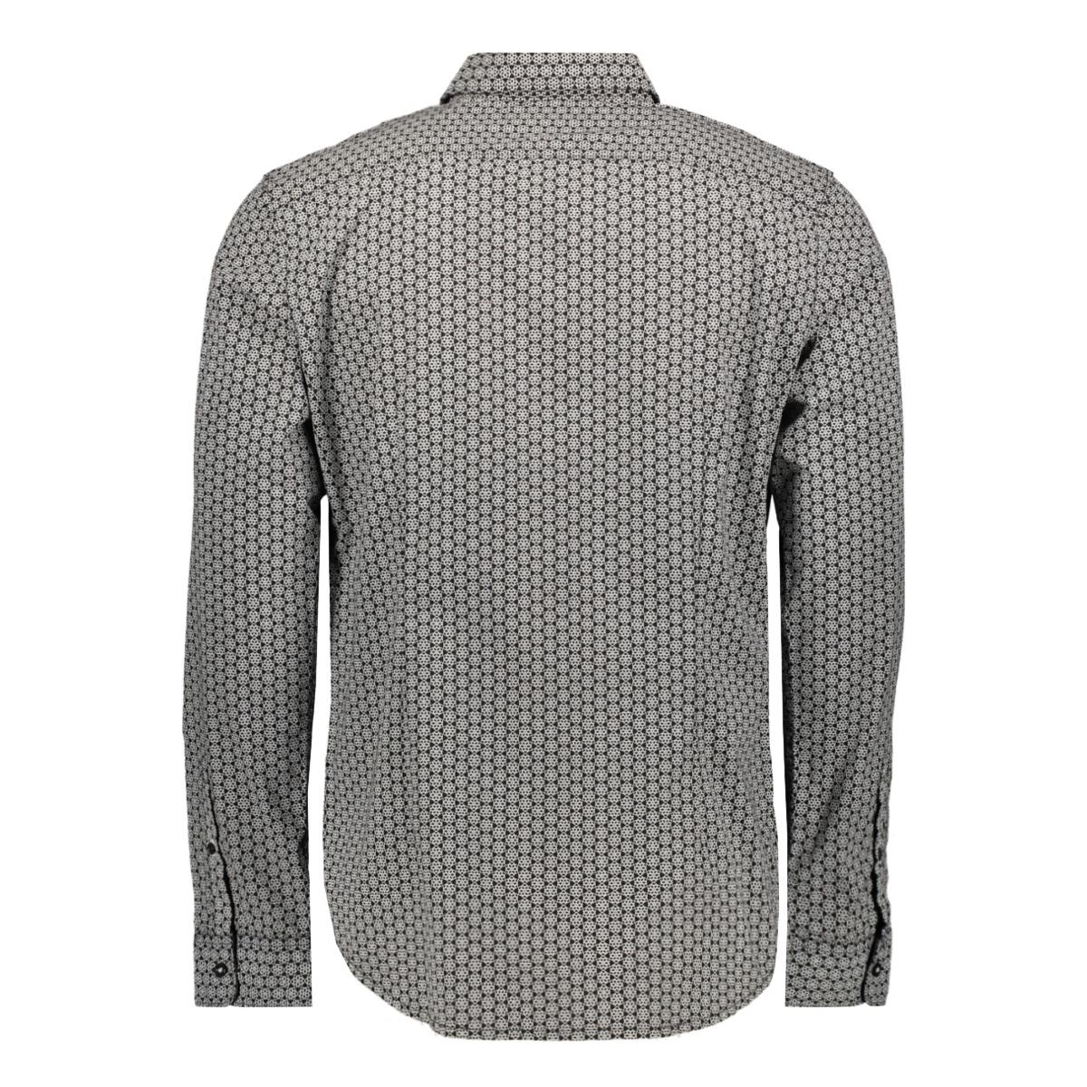 overhemd met all over print 1015314xx10 tom tailor overhemd 20750