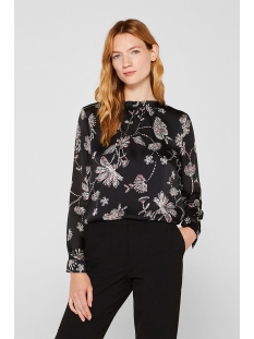 crinkled blouse van satijn 119eo1f003 esprit collection blouse e001