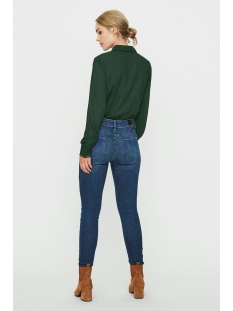 vmsimone ls shirt wvn ga 10225623 vero moda blouse atlantic deep/solid