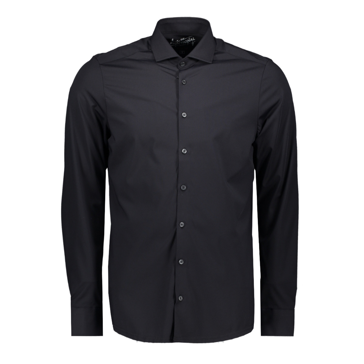functional shirt slim 3387 21150 pure h. tico overhemd black
