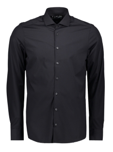 Pure H. Tico Overhemd FUNCTIONAL SHIRT SLIM 3387 21150 BLACK