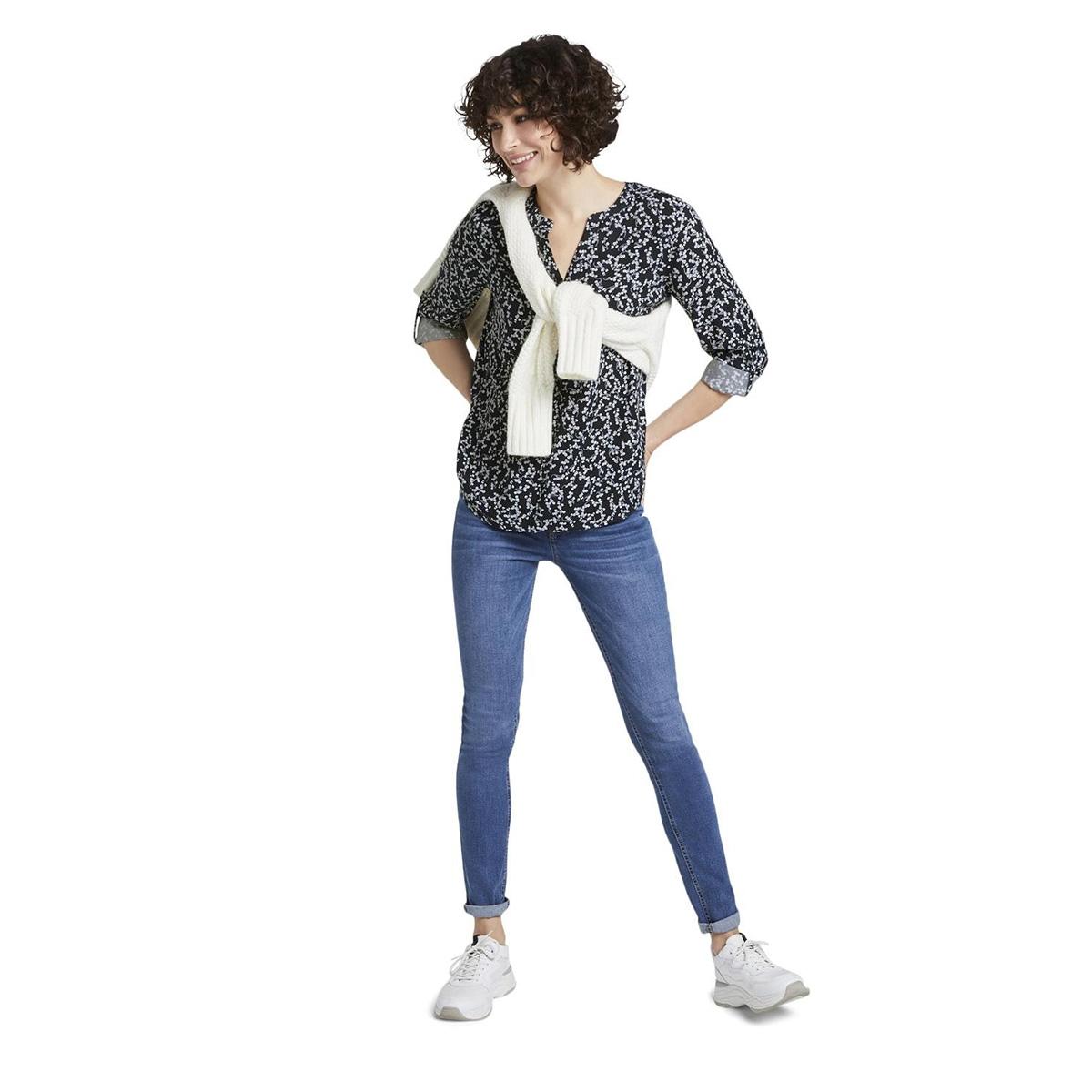 blouse met bloemenpatroon 1016188xx70 tom tailor blouse 21293