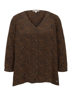 blouse met v hals 1016357xx71 tom tailor blouse 21262