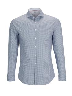 Desoto Overhemd HAI 21308 3 057 NAVY HOUNDSTOOTH