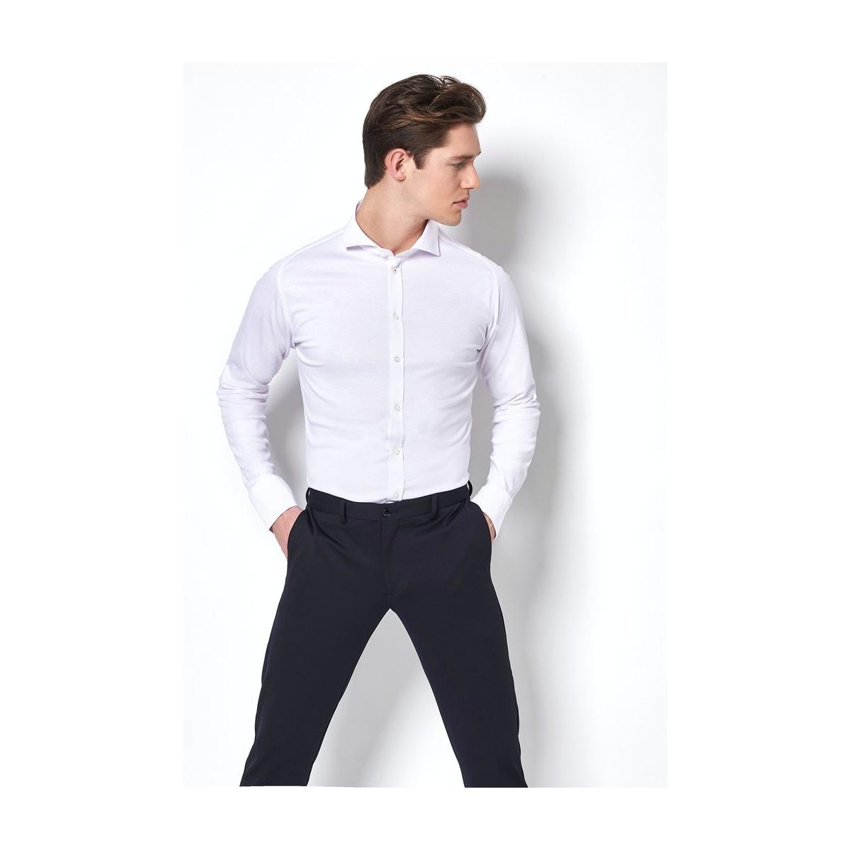 hai 21008 3 desoto overhemd 001 white uni