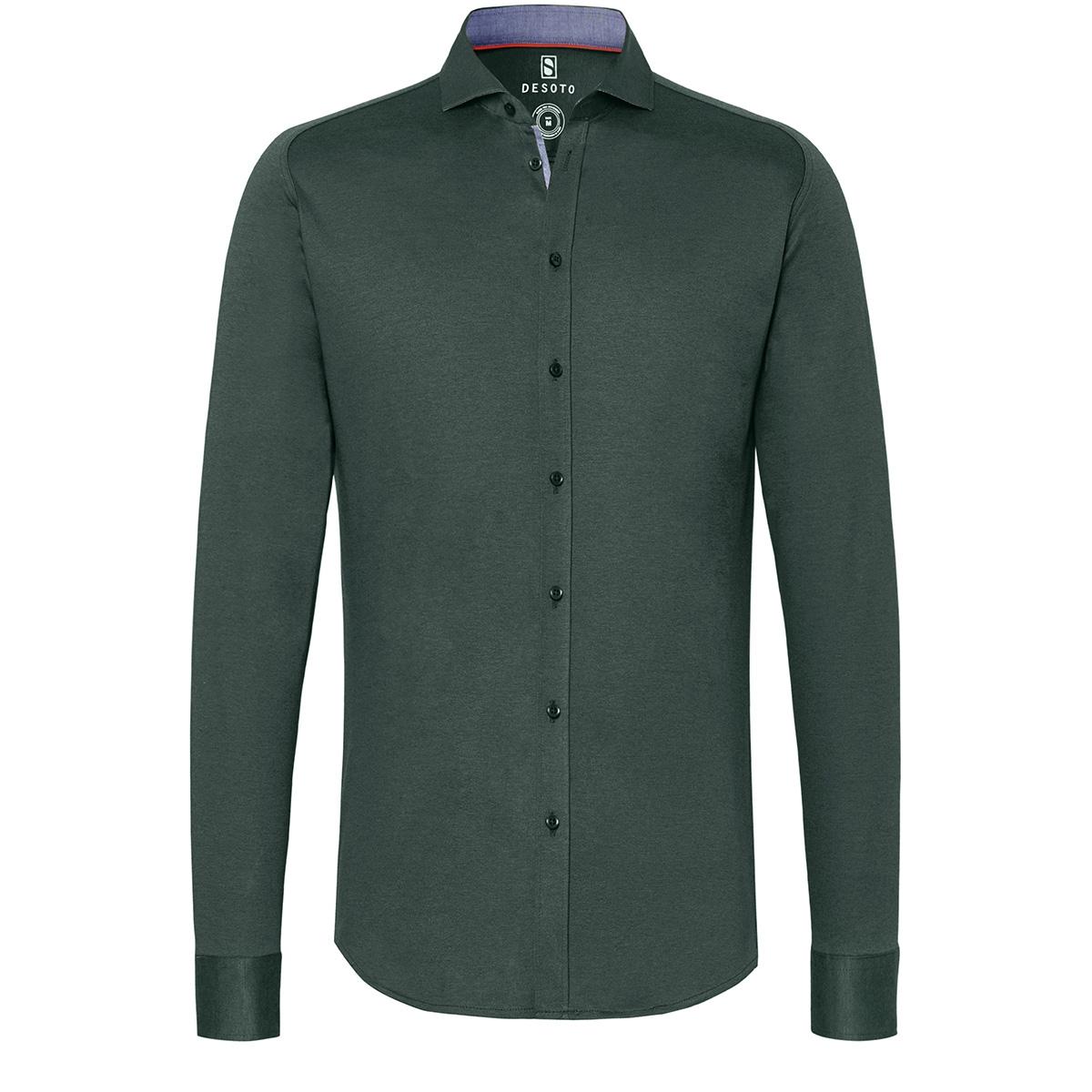new hai 97007 3 desoto overhemd 602 green piquee