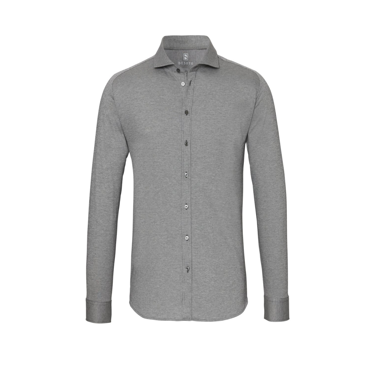 new hai 97507 3 desoto overhemd 702 grey cotele
