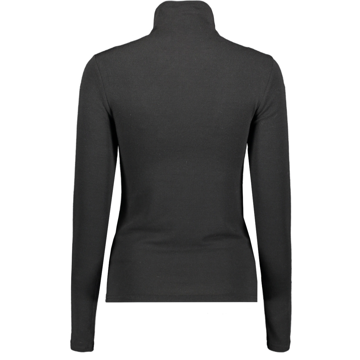 pcjawanna ls mock neck top 17100835 pieces trui black