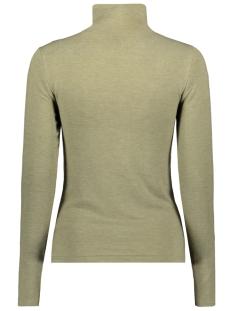 pcjawanna ls mock neck top 17100835 pieces trui deep lichen green