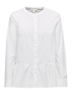 stretchblouse met volant aan de zoom 129ee1f014 esprit blouse e100