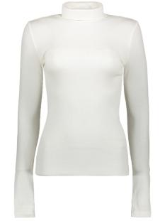 Pieces T-shirt PCBIRDIE LS HIGH NECK PB 17094278 Cloud Dancer